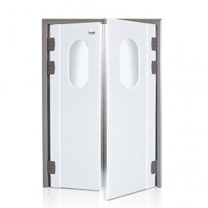 Swinging doors in polyethylene INCOLD
