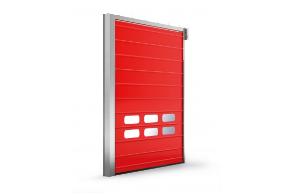 Sectional fold-up doors INCOLD
