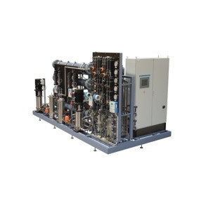 Plug-and-play water treatment plant