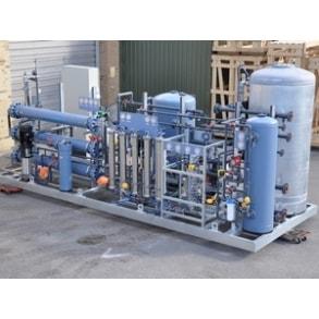 Установка для подготовки турбинной воды