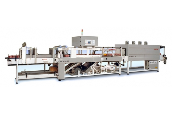 6 - Termo-shrink wrapping machine (film, film + pad) 50-100 ppm EV-850-50 Tecmi