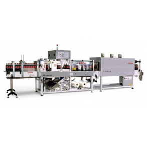35-70 ppm shrink-wrapping machine (film, film + pad | tray) EV-750-35 Tecmi