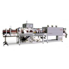 35-70 ppm shrink-wrapping machine (film, film + pad | tray) EV-750-35 Tecmi