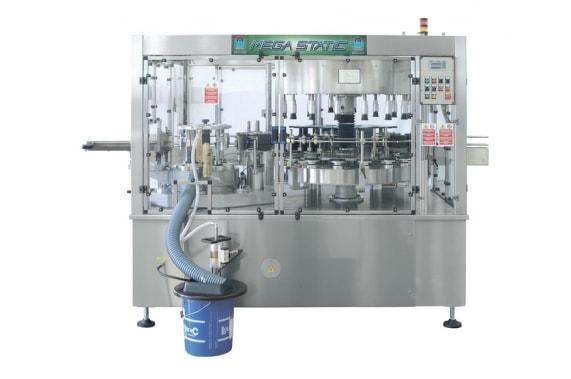 Labelling machine cold glue Mega Static BRB Globus