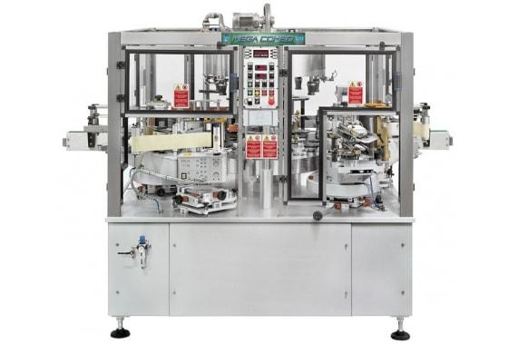 6000-24000 изр сombi labelling machine Mega Combo 1 BRB Globus