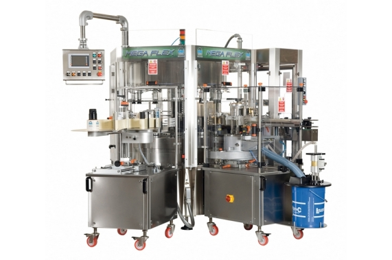 6000-24000 bph multi labelling solution Mega Flex BRB Globus