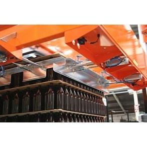 Automatic bulk Depalletizer