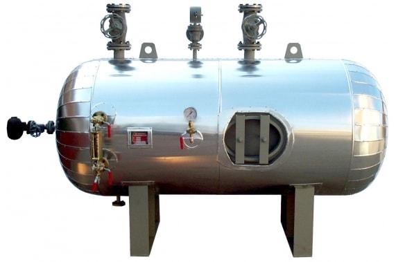 Steam accumulator OP PANINI