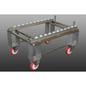 Retort trolleys for cages UNI-TECH