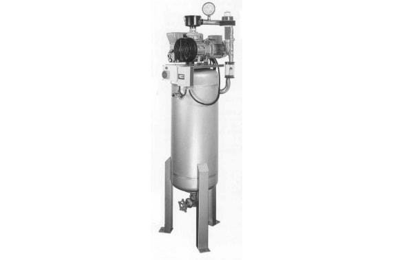Vacuum unit for bung dropper EFA