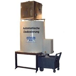 Automatic ice silo AS1000 Ziegra
