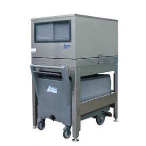 150 kg elevated ice storage with cart Ziegra