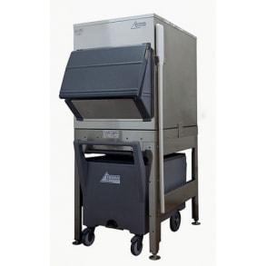 200kg elevated ice storage with cart Ziegra