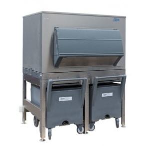 400kg elevated ice storage with carts Ziegra