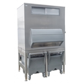 630kg elevated ice storage for existing carts Ziegra