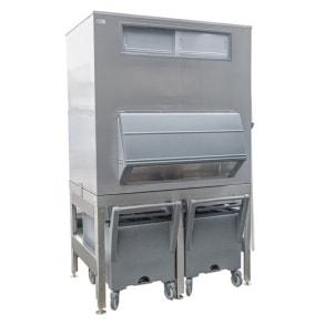 630 кг в сутки генератора гранулированного льда с верхним накопителем и тележками Ziegra