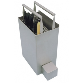 Disinfectant tank for 2 knives holder 565 UNI-TECH