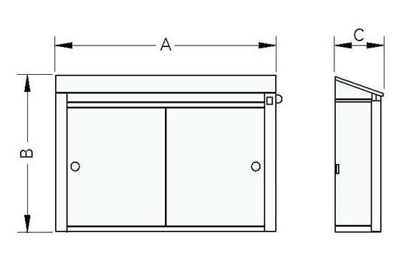 Cupboard knives sterilization 18 knives holder UNI-TECH