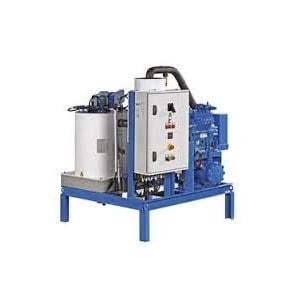 1000 kg scale ice machine - on board Ziegra