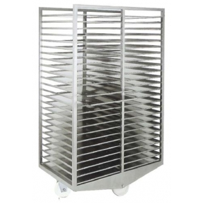 Smokehouse trolleys for trays UNI-TECH