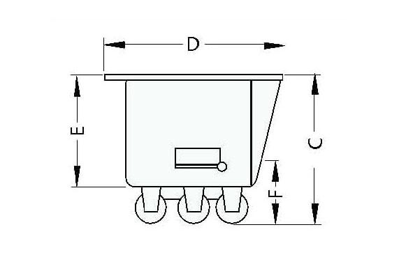 Meat truck | trolley for elevator UNI-TECH