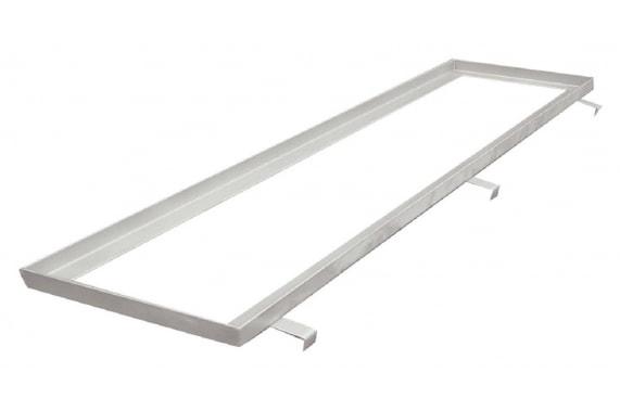 Stainless steel frame for gratings UNI-TECH