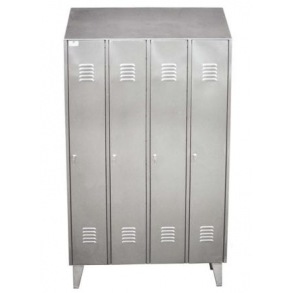 Big doors lockers with vertical division UNI-TECH