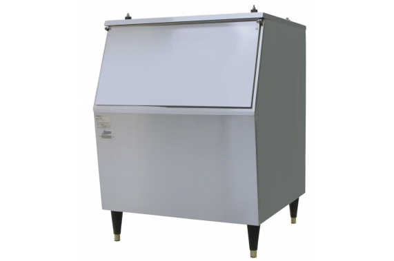 130kg slope fronted ice storage bin Ziegra