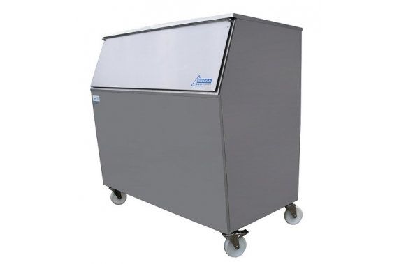 280kg slope fronted ice storage bin Ziegra