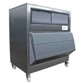 500 kg ice storage bin with SmartGate Ziegra