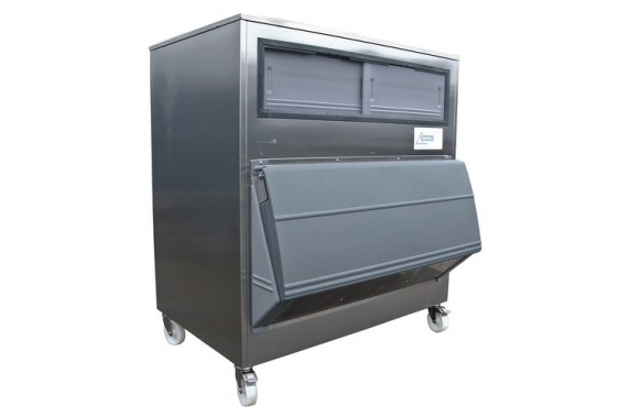 500 kg ice storage bin with SmartGate Ziegra
