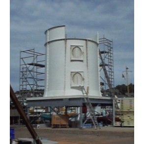 Orbital ice silo ZS Ziegra