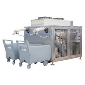 5000 kg industrial flake ice machine - twin circuit Ziegra