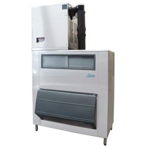 500kg Nugget Ice Machine with 500kg Smartgate Ice Bin Ziegra