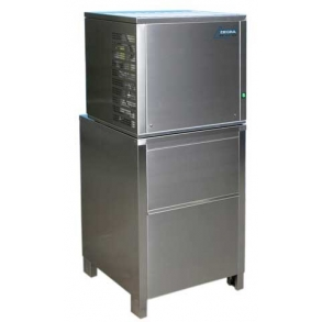 150 kg flake ice machine with 100kg upright bin Ziegra