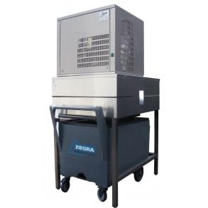 250 кг в сутки генератора гранулированного льда с каркасом и тележкой Ziegra
