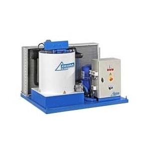 3000 кг в сутки генератора чешуйчатого льда Ziegra