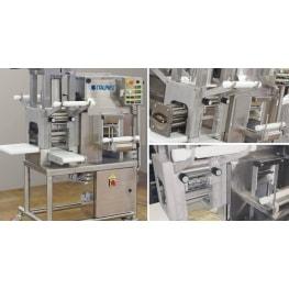 Combined sheeter/extruder ravioli machine ITALPAST