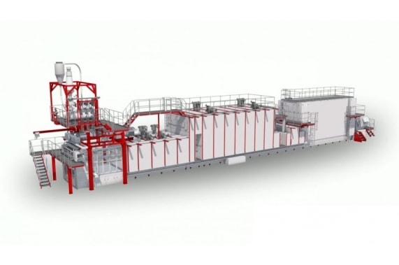 Multi-tier long-cut pasta line from 2000 kg/hour LPL AXOR OCRIM