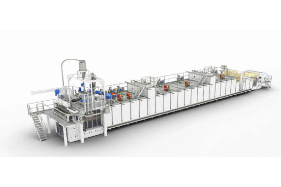 Monotier long-cut pasta line from 1000 kg/hour LPL AXOR OCRIM