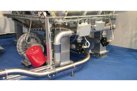 Extraction fluidization CEPI
