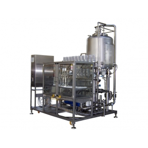 Pilot filler with concentrate preparation unit IDROINOX