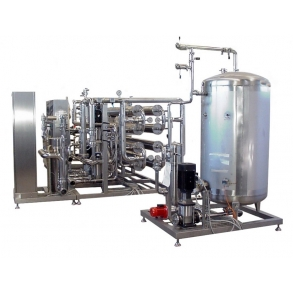 Double-stage reverse osmosis IDROINOX