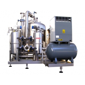 100.000 lit/h water treatment ozone generator IDROINOX