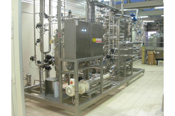 UHT milk ferment skid UNI-TECH