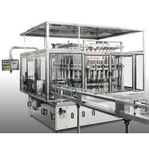 Rotary piston fillers with plunger Zilli & Bellini
