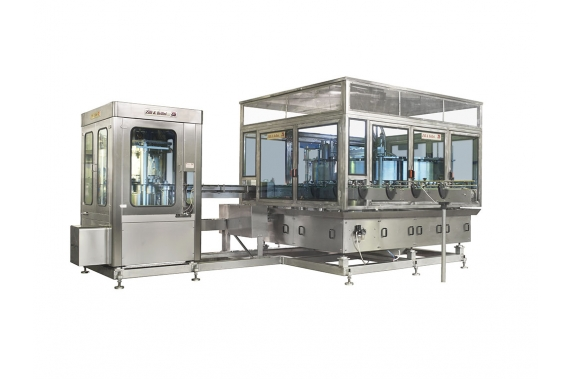 28000 cph rotary vacuum fillers RB/RB-E Zilli & Bellini