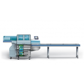 The automatic packaging machine AUTOMAC 55 Più Fabbri Group