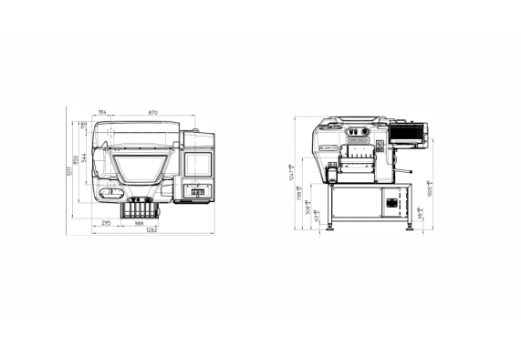 Elixa XP14, disegni tecnici - Gruppo Fabbri