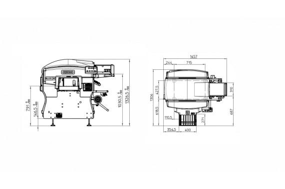Elixa 35, disegni tecnici - Gruppo Fabbri